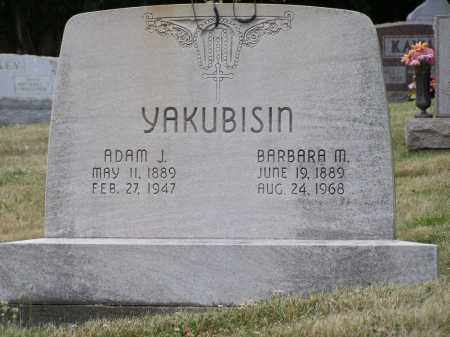 YAKUBISIN, ADAM J. - Guernsey County, Ohio | ADAM J. YAKUBISIN - Ohio Gravestone Photos
