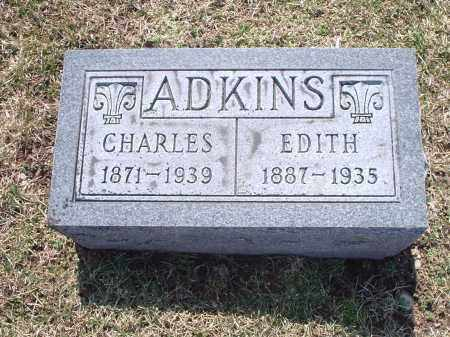 ADKINS, EDITH - Hamilton County, Ohio | EDITH ADKINS - Ohio Gravestone Photos