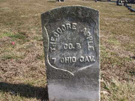 APPLE, THEODORE - Hamilton County, Ohio   THEODORE APPLE - Ohio Gravestone Photos