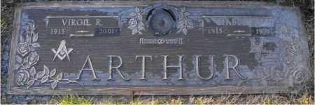 ARTHUR, VIRGIL - Hamilton County, Ohio | VIRGIL ARTHUR - Ohio Gravestone Photos
