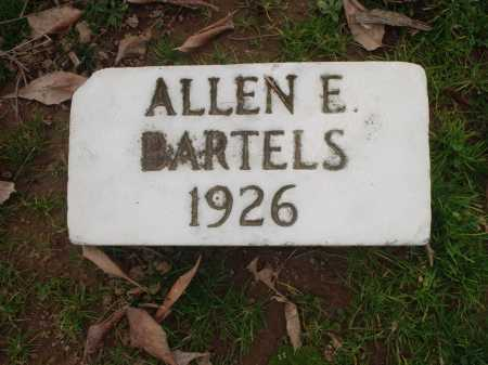BARTELS, ALLEN E. - Hamilton County, Ohio | ALLEN E. BARTELS - Ohio Gravestone Photos
