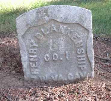 BLANKENSHIP, HENRY - Hamilton County, Ohio | HENRY BLANKENSHIP - Ohio Gravestone Photos