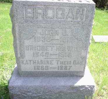 BROGAN, BRIDGET - Hamilton County, Ohio | BRIDGET BROGAN - Ohio Gravestone Photos