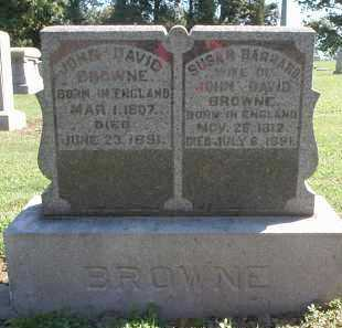 BROWNE, JOHN DAVID - Hamilton County, Ohio | JOHN DAVID BROWNE - Ohio Gravestone Photos