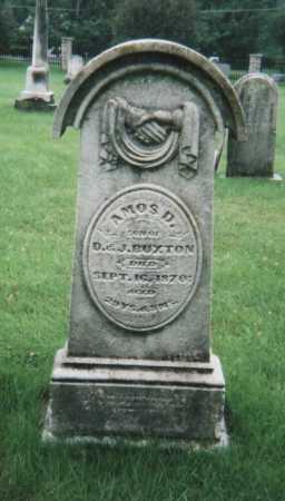BUXTON, AMOS D. - Hamilton County, Ohio | AMOS D. BUXTON - Ohio Gravestone Photos
