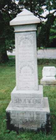 LAMBORN BUXTON, HANNAH - Hamilton County, Ohio | HANNAH LAMBORN BUXTON - Ohio Gravestone Photos
