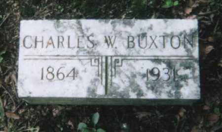 BUXTON, CHARLES W. - Hamilton County, Ohio | CHARLES W. BUXTON - Ohio Gravestone Photos