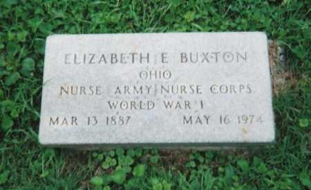 BUXTON, ELIZABETH ETHEL - Hamilton County, Ohio | ELIZABETH ETHEL BUXTON - Ohio Gravestone Photos
