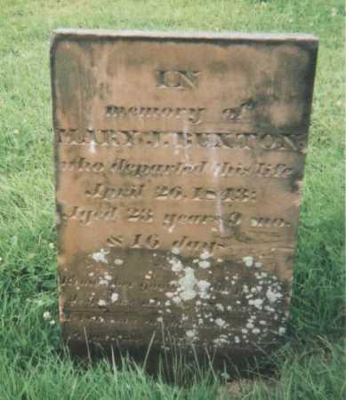 BUXTON, MARY J. - Hamilton County, Ohio | MARY J. BUXTON - Ohio Gravestone Photos