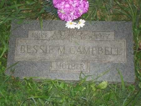 CAMPBELL, BESSIE M. - Hamilton County, Ohio | BESSIE M. CAMPBELL - Ohio Gravestone Photos