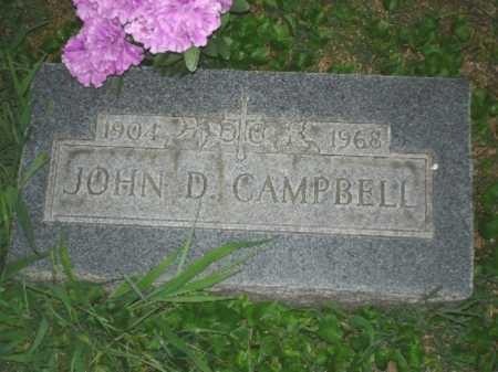 CAMPBELL, JOHN - Hamilton County, Ohio | JOHN CAMPBELL - Ohio Gravestone Photos