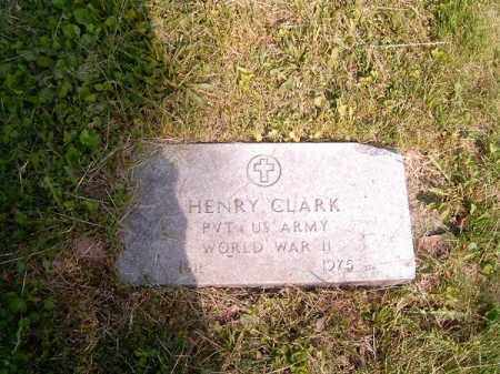 CLARK, HENRY - Hamilton County, Ohio | HENRY CLARK - Ohio Gravestone Photos