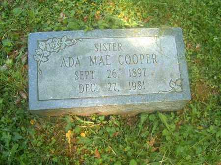COOPER, ADA  MAE - Hamilton County, Ohio | ADA  MAE COOPER - Ohio Gravestone Photos
