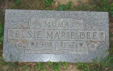 DEE, ELSIE - Hamilton County, Ohio | ELSIE DEE - Ohio Gravestone Photos