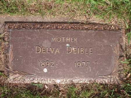 NELSON DEIBLE, DELVA - Hamilton County, Ohio | DELVA NELSON DEIBLE - Ohio Gravestone Photos