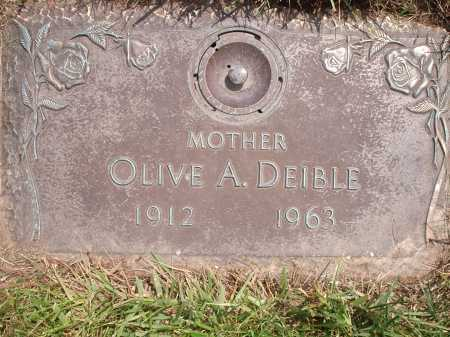 DEIBLE, OLIVE A. - Hamilton County, Ohio | OLIVE A. DEIBLE - Ohio Gravestone Photos