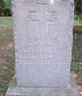 DOLLENMEYER, CONRAD - Hamilton County, Ohio | CONRAD DOLLENMEYER - Ohio Gravestone Photos