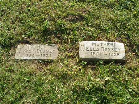 DOXSEY, WM FRANKLIN - Hamilton County, Ohio | WM FRANKLIN DOXSEY - Ohio Gravestone Photos