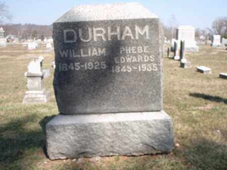 EDWARDS DURHAM, PHEBE - Hamilton County, Ohio | PHEBE EDWARDS DURHAM - Ohio Gravestone Photos