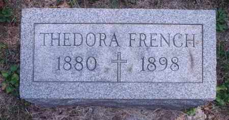 FRENCH, THEDORA - Hamilton County, Ohio | THEDORA FRENCH - Ohio Gravestone Photos