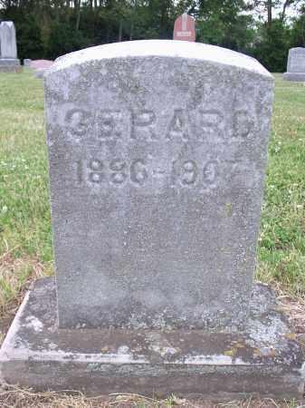 GERARD, MILTON F. - Hamilton County, Ohio | MILTON F. GERARD - Ohio Gravestone Photos