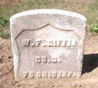 GIFFIN, W.F. - Hamilton County, Ohio | W.F. GIFFIN - Ohio Gravestone Photos