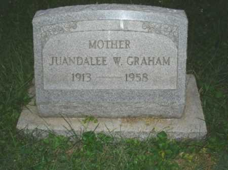 GRAHAM, JUANDALEE - Hamilton County, Ohio | JUANDALEE GRAHAM - Ohio Gravestone Photos