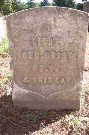 GRIST, GEO. - Hamilton County, Ohio | GEO. GRIST - Ohio Gravestone Photos
