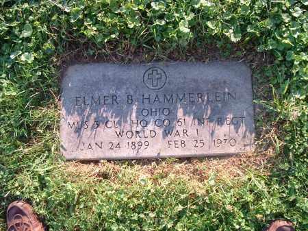 HAMERLEIN, ELMER B - Hamilton County, Ohio | ELMER B HAMERLEIN - Ohio Gravestone Photos