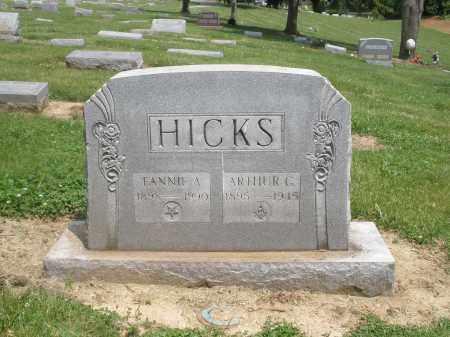 FREESE HICKS, FANNIE - Hamilton County, Ohio | FANNIE FREESE HICKS - Ohio Gravestone Photos