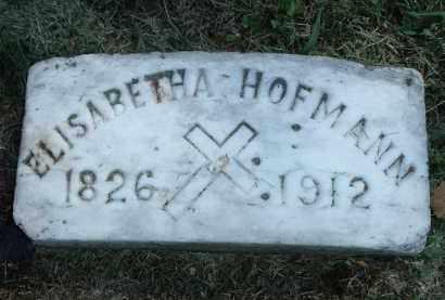 HOFMANN, ELISABETHA - Hamilton County, Ohio | ELISABETHA HOFMANN - Ohio Gravestone Photos