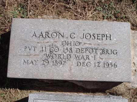 JOSEPH, AARON C. - Hamilton County, Ohio | AARON C. JOSEPH - Ohio Gravestone Photos