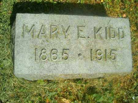 KIDD, MARY  E - Hamilton County, Ohio | MARY  E KIDD - Ohio Gravestone Photos