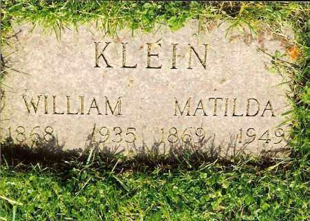 CONLEY KLEIN, MATILDA - Hamilton County, Ohio | MATILDA CONLEY KLEIN - Ohio Gravestone Photos