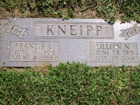 KNEIPP, LILLIAN N. - Hamilton County, Ohio | LILLIAN N. KNEIPP - Ohio Gravestone Photos