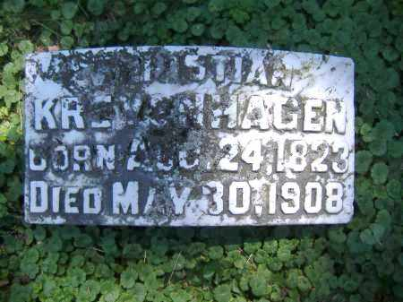 KREYENHAGEN, CHRISTIAN - Hamilton County, Ohio | CHRISTIAN KREYENHAGEN - Ohio Gravestone Photos
