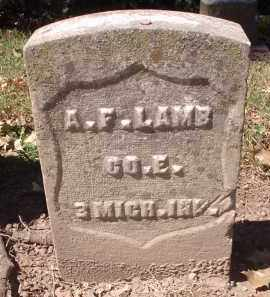 LAMB, A.F. - Hamilton County, Ohio | A.F. LAMB - Ohio Gravestone Photos