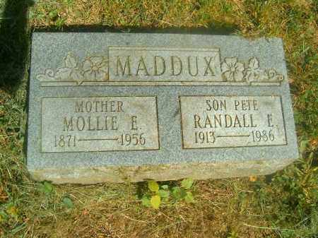 MADDUX, MOLLIE   E - Hamilton County, Ohio | MOLLIE   E MADDUX - Ohio Gravestone Photos