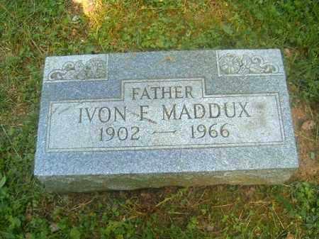 MADDUX, IVON  F - Hamilton County, Ohio | IVON  F MADDUX - Ohio Gravestone Photos