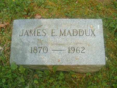 MADDUX, JAMES  E - Hamilton County, Ohio | JAMES  E MADDUX - Ohio Gravestone Photos