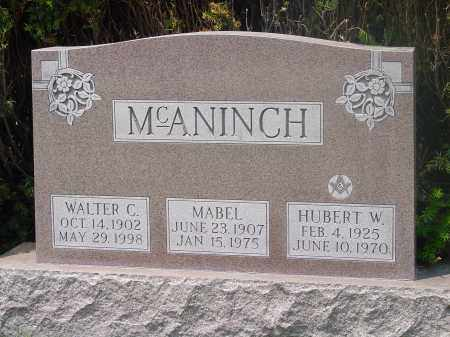 MCANINCH, MABEL - Hamilton County, Ohio | MABEL MCANINCH - Ohio Gravestone Photos