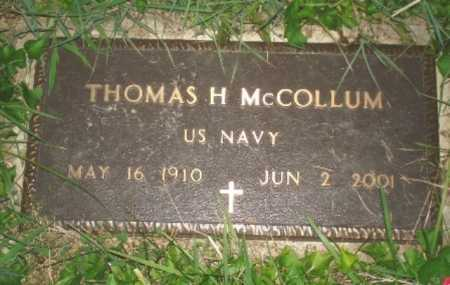 MCCOLLUM, THOMAS - Hamilton County, Ohio | THOMAS MCCOLLUM - Ohio Gravestone Photos
