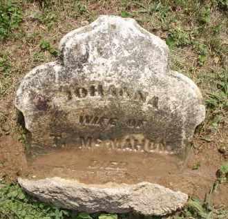 MCMAHON, JOHANNA - Hamilton County, Ohio | JOHANNA MCMAHON - Ohio Gravestone Photos