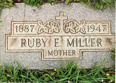MILLER, RUBY E. - Hamilton County, Ohio | RUBY E. MILLER - Ohio Gravestone Photos