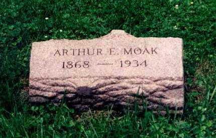 MOAK, ARTHUR E. - Hamilton County, Ohio | ARTHUR E. MOAK - Ohio Gravestone Photos