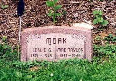 MOAK, MAE TAYLOR - Hamilton County, Ohio | MAE TAYLOR MOAK - Ohio Gravestone Photos