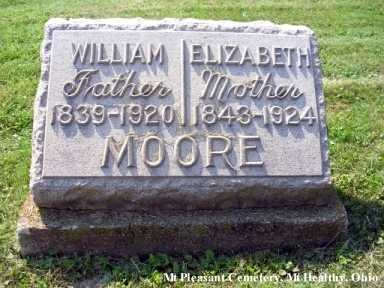MOORE, WILLIAM - Hamilton County, Ohio | WILLIAM MOORE - Ohio Gravestone Photos
