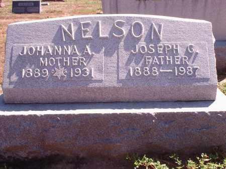 NELSON, JOHANNA A. - Hamilton County, Ohio | JOHANNA A. NELSON - Ohio Gravestone Photos