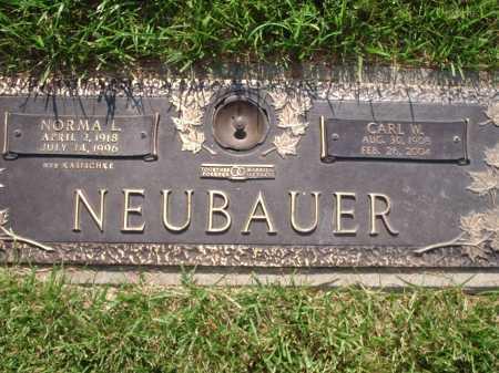 KASISCHKE NEUBAUER, NORMA L. - Hamilton County, Ohio | NORMA L. KASISCHKE NEUBAUER - Ohio Gravestone Photos