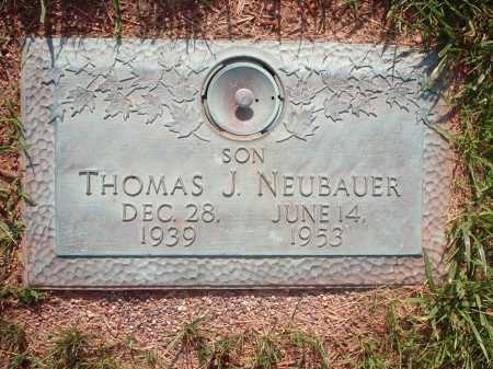 NEUBAUER, THOMAS J. - Hamilton County, Ohio | THOMAS J. NEUBAUER - Ohio Gravestone Photos
